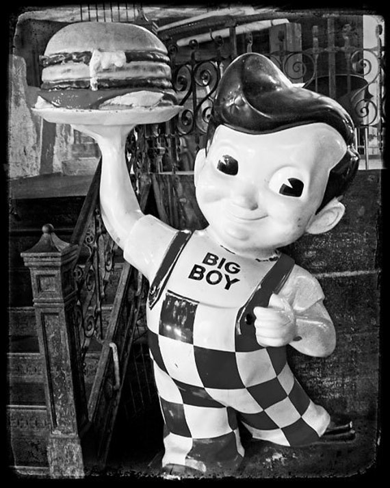 Big Boy Statue 8x10 Fine Art Photograph