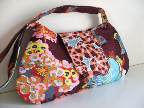 Medium shoulder bag--Ready to ship