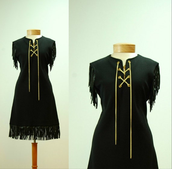 vintage// 1960s Goldworm Dress 5250