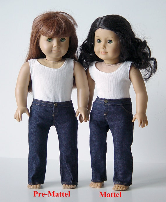 American Girl Doll Clothes --Jeans --Made to Fit (1-01/02)
