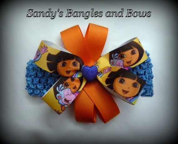 Dora The Explorer and Boots Headband