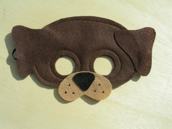 Child Size Dog Mask