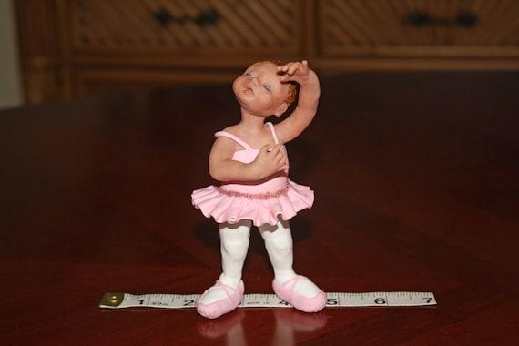 OOAK Polymer Clay Ballet Star of the Dance Recital