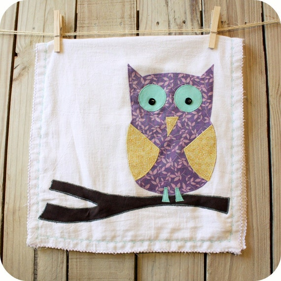Tea Towel - An Owl Dish Towel