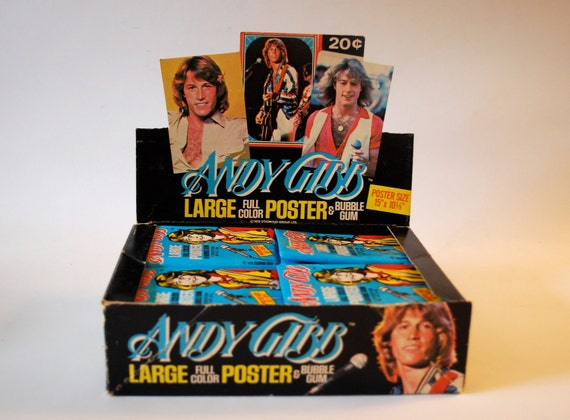 Andy Gibb trading cards