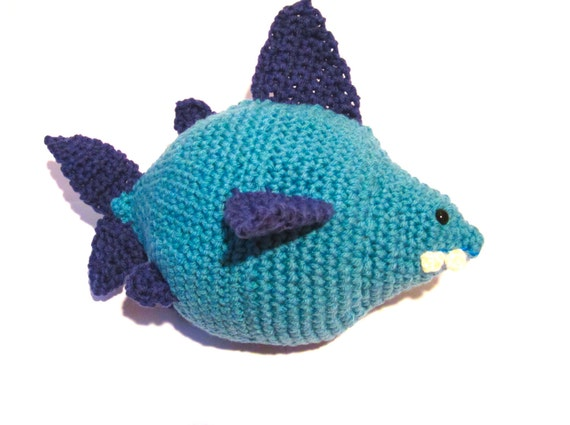 Amigurumi  Shark Crochet Pattern