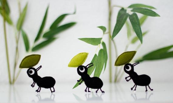 Keçe Karınca Çalışmaları