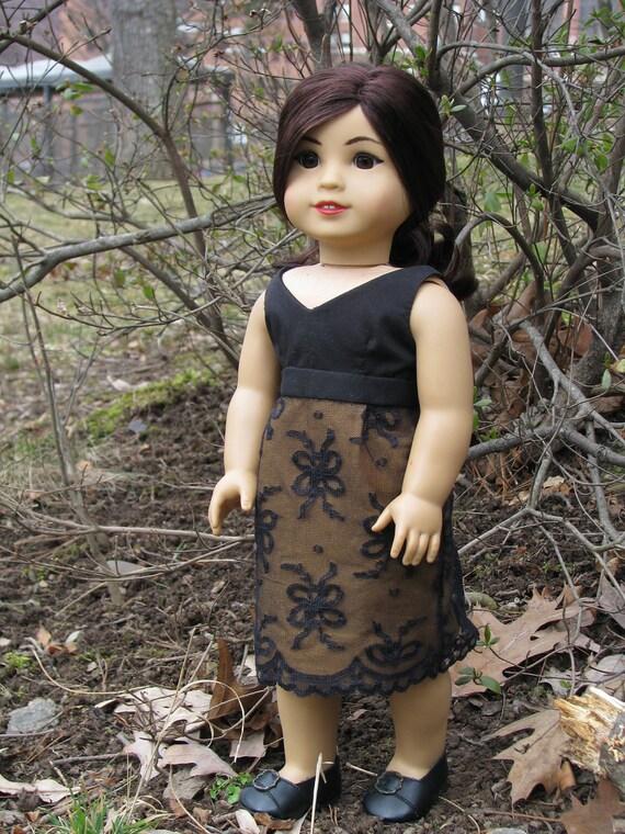 american girl doll dress: belladonna