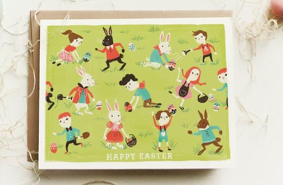 Easter Children 1pc