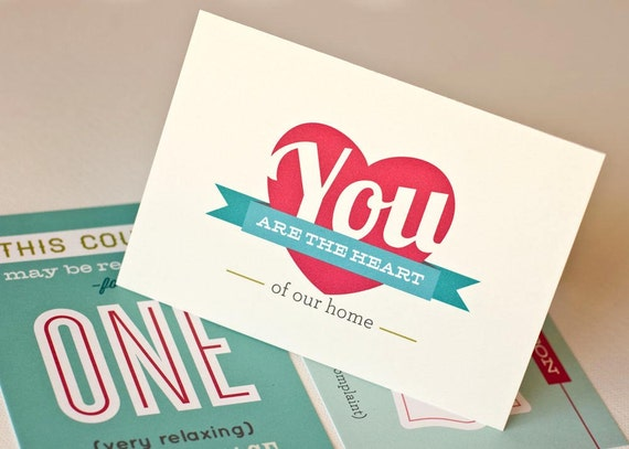 Mother's Day Card and Coupons // Gift Set for Mom // COUPONS FOR MOM