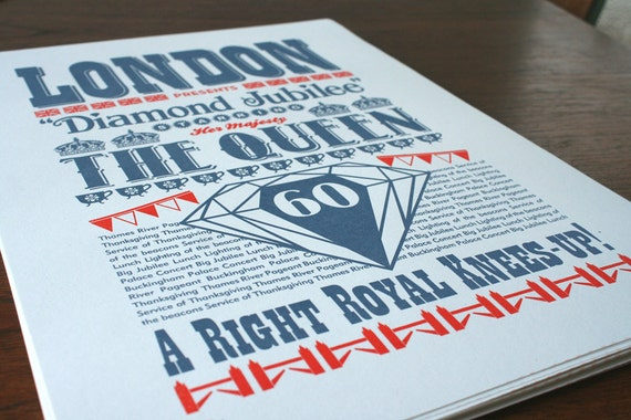 Queen's Jubilee Screen print