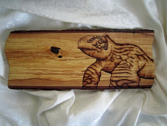 sea turtle primitive wall decor- sea turtle burned on basswood -  rustic nautical ocean sea life artwork