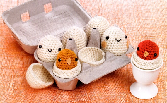 Egg Doll Pdf E Pattern gift baby toy Crocheted