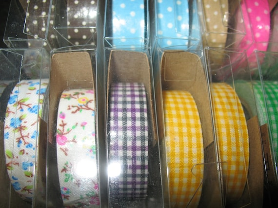 "Washi tape CLEARANCE  3 rolls "" pay 2 Fabric tape get 1 FREE Kawaii tape "" Scrapbooking tape %  Fabric tape  Deco tape"