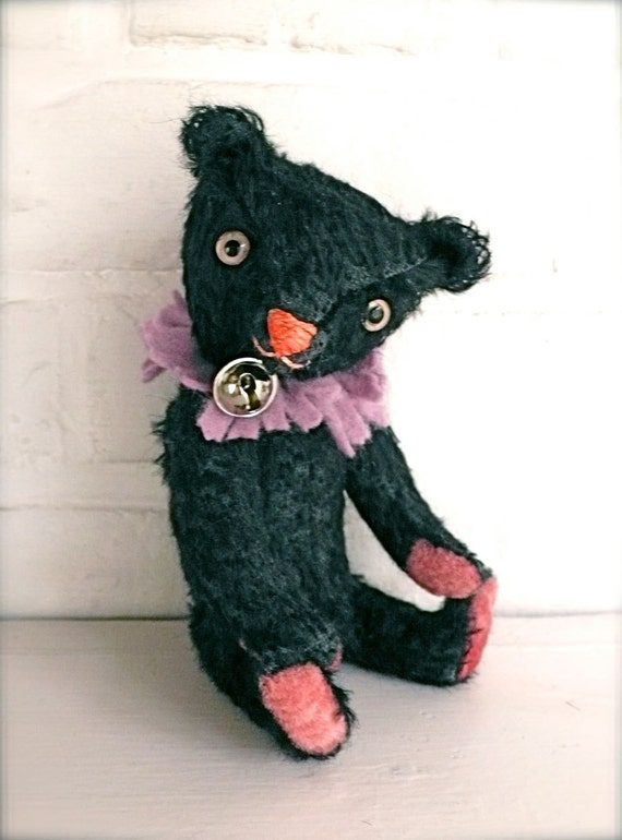 Mitsy the black clown bear