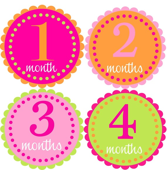 Stupendous image with regard to printable baby month signs