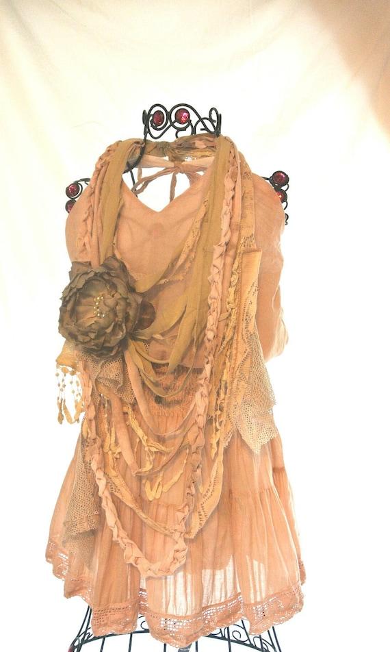 Boho шикарном платье недоуздок, богемная девушка, пляж сарафан, хиппи шик, стороны окрашенный, румяна, ню, винтажные платья лето пляж девушки