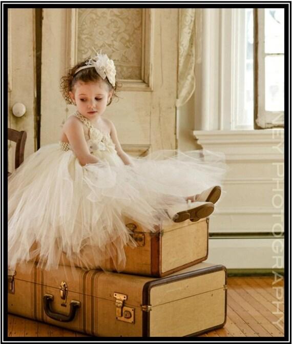 Ivory flower girl tutu dress, Flower girl dress, tutu dresses, wedding