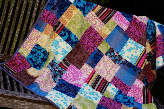 Colorful Lap Quilt