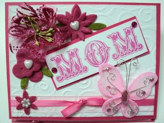 MoM Easle Card Perfect for Mother's Day or Birthday
