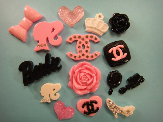 KaWaii Resin Flatback Cabochon 15 PiEcE LoVeLy by KeepCalmAndCapOn