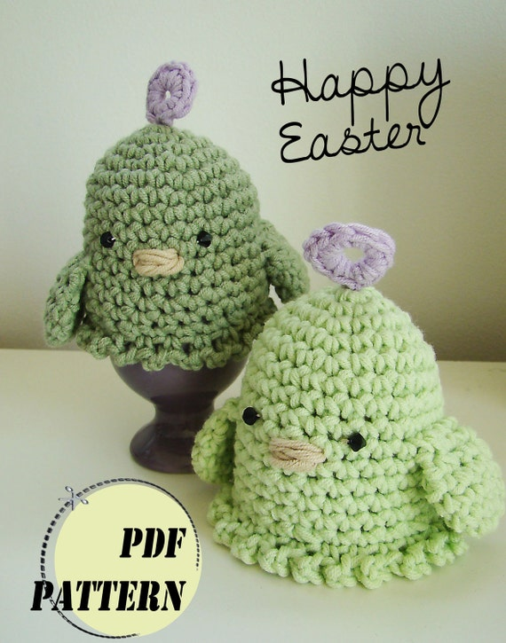 Easter Egg Cosy, Crochet PDF Pattern