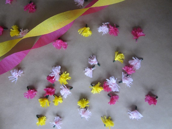 Flower-lett Table Confetti