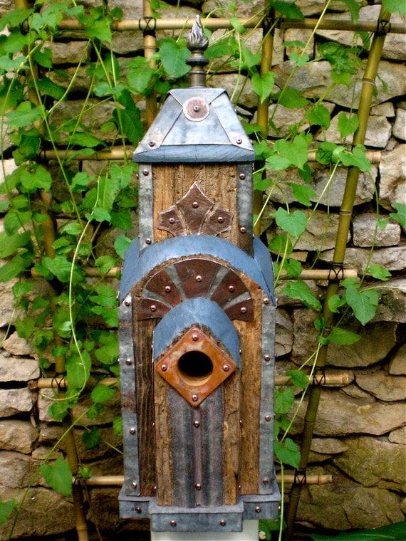Dishfunctional Designs For The Birds Unique Garden Birdhouses