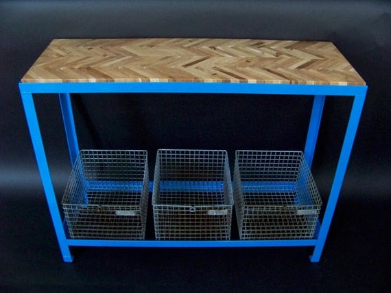 100% Reclaimed Console Table