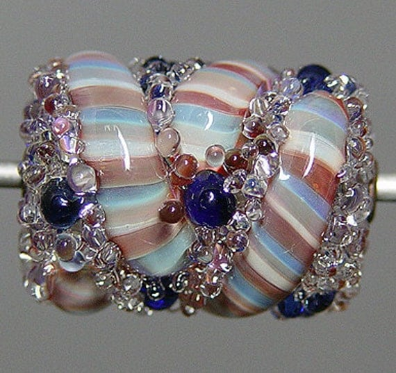 Multicolor Lampwork  Focal Bead    SALE