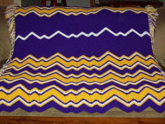 RESERVED LISTING - LOS ANGELES LAKERS COLORS BLANKET