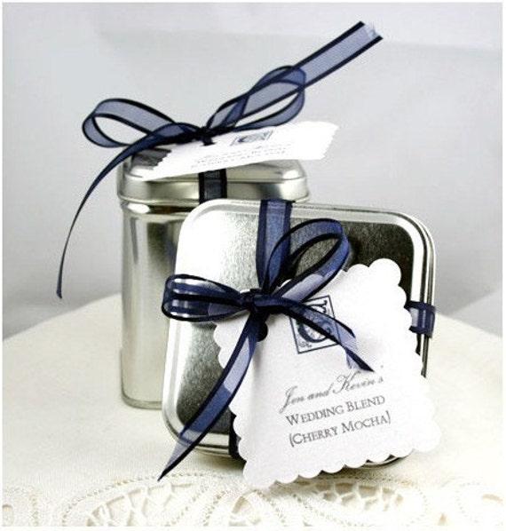 WEDDING Tea Favors -- Custom Blend for Weddings
