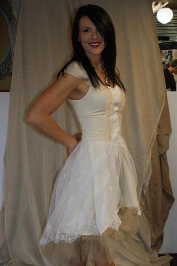 THE CORPSE BRIDE lolita style wedding dress From petticoatpistol