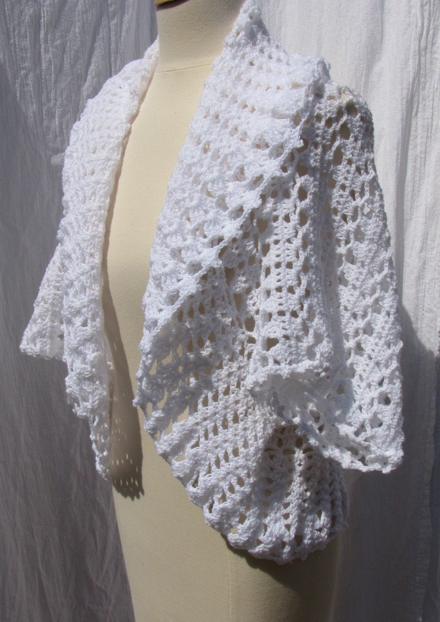 Crochet Shrug Pattern : Free Madison Shrug Pattern [FP171] - $0.00 : Maggie Weldon, Free