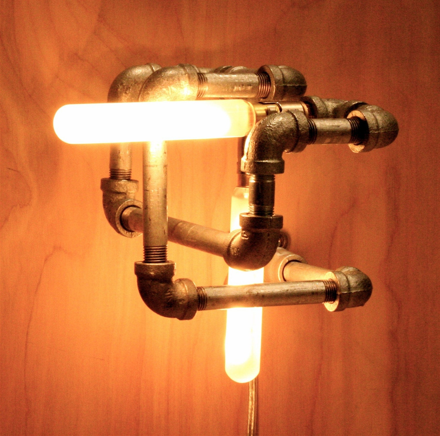 LET'S STAY: Cool Pipe Lighting Design