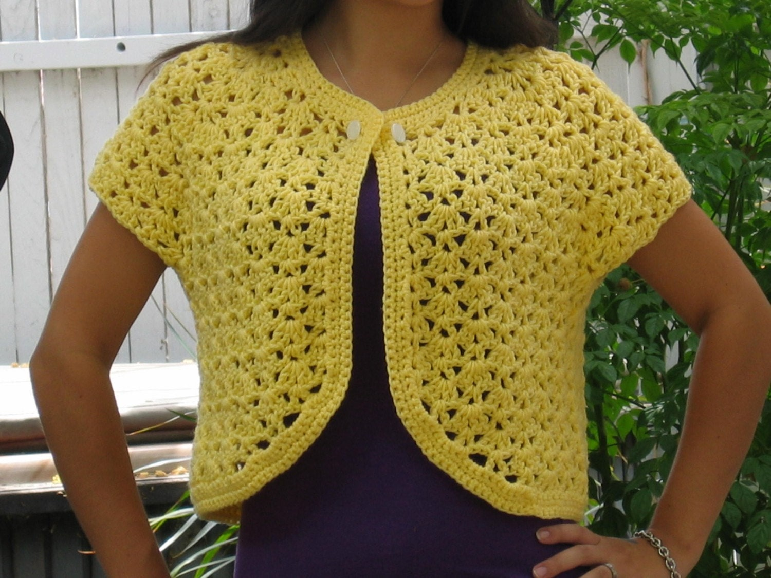 Free Crochet Patterns Vests Beginners : CROCHETED SWEATER VEST ? Crochet For Beginners