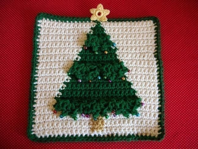 CROCHET CHRISTMAS POTHOLDERS ? Crochet For Beginners