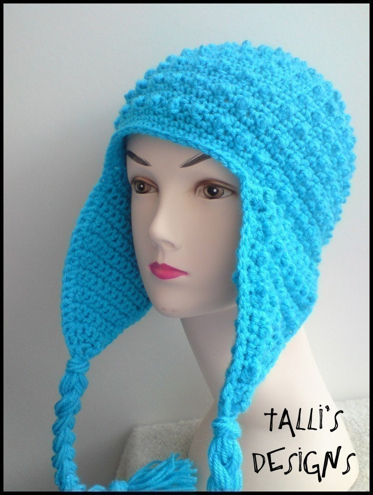 Free Crochet Basic Earflap Hat Pattern : FREE CROCHET EARFLAP HAT PATTERNS ? Crochet For Beginners