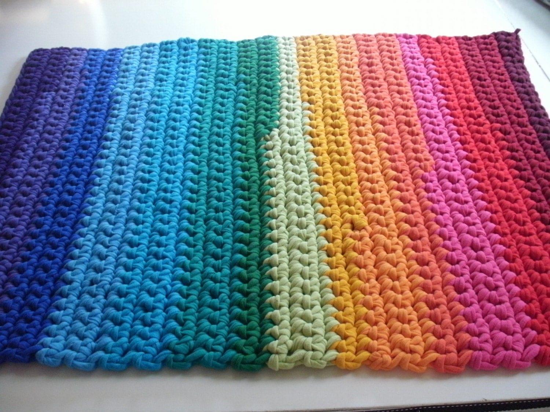 CROCHETED YARN RUGS FREE PATTERNS - Crochet and Knitting ...