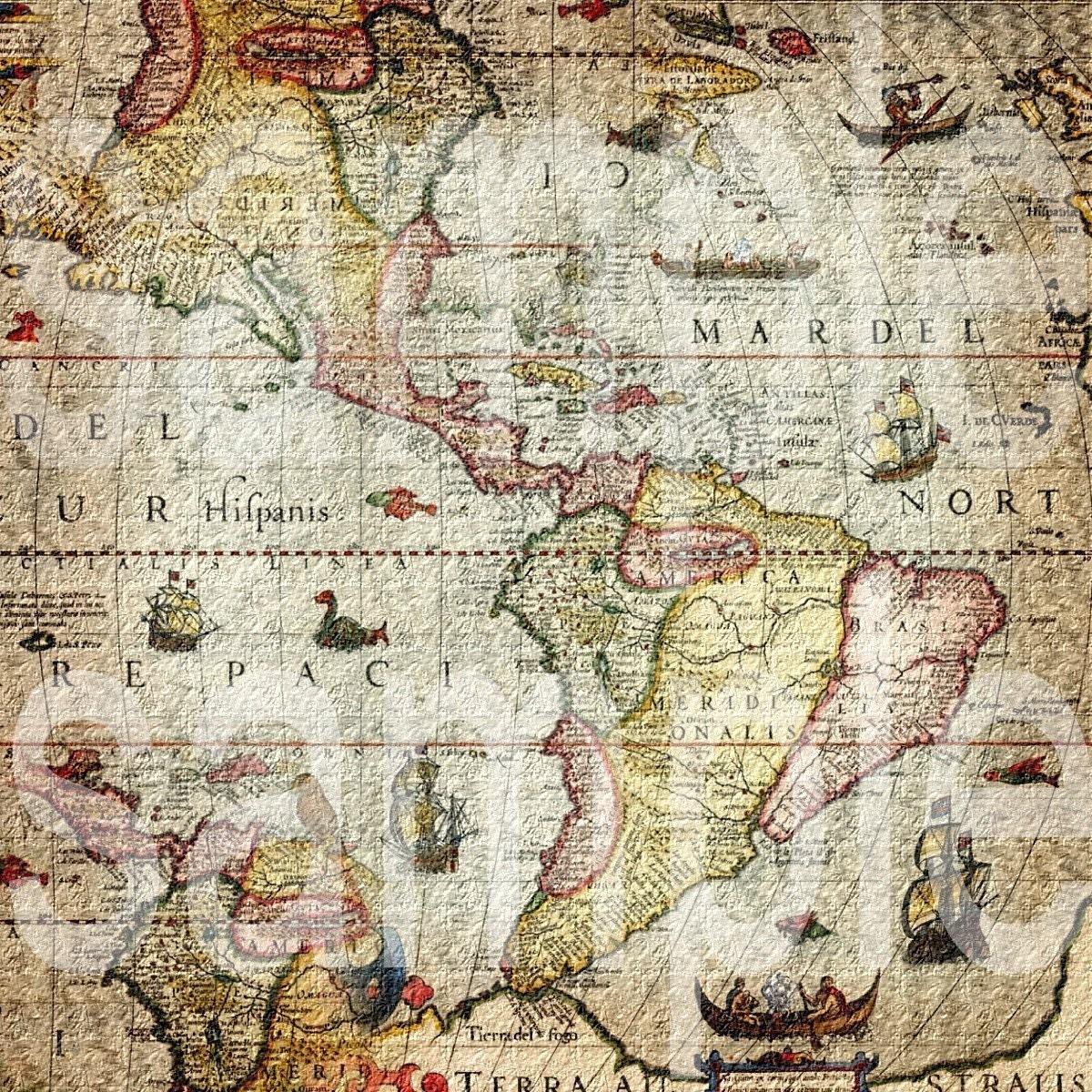 Mapas antiguos para imprimir o curiosear (+60)