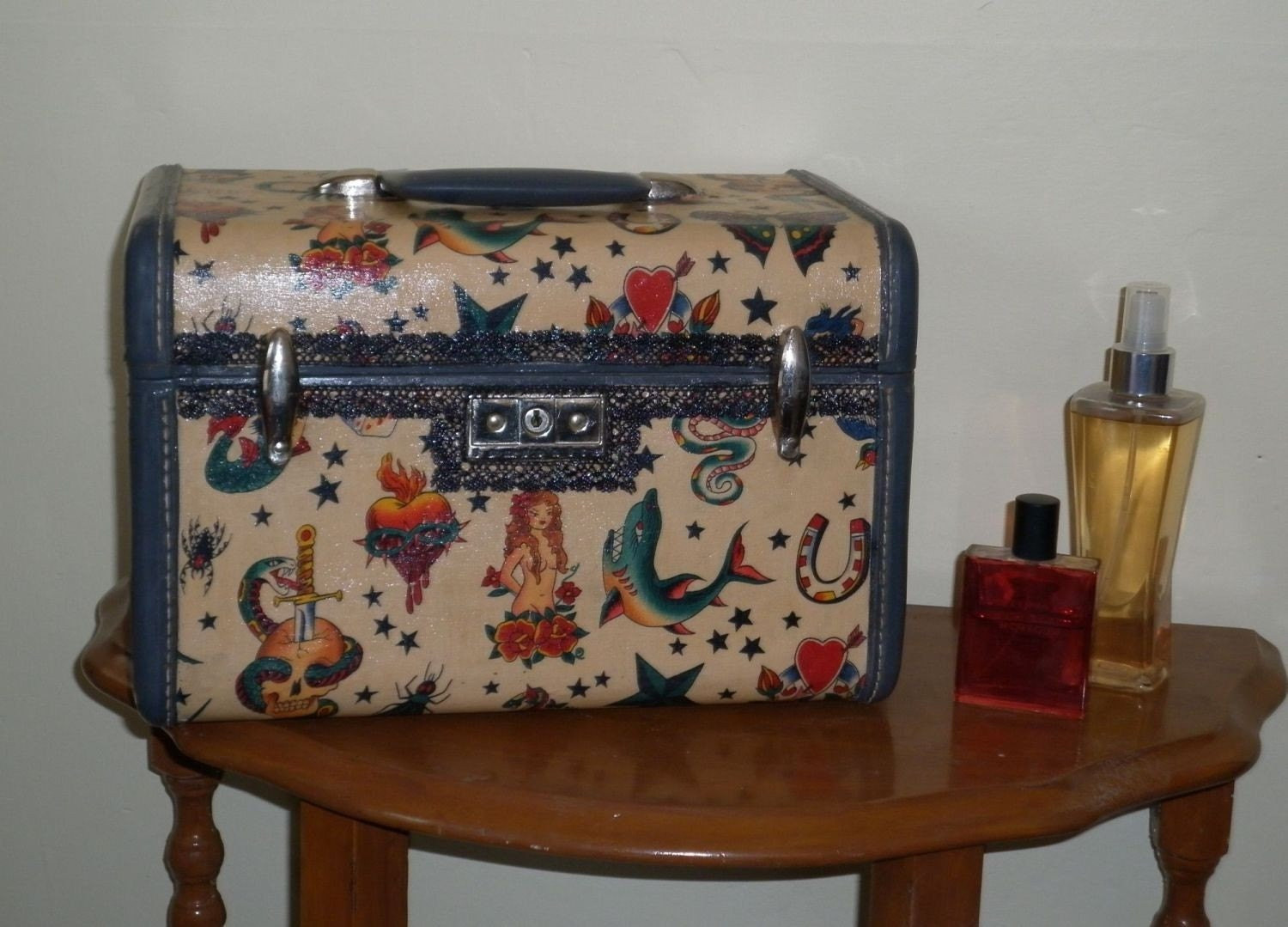 train case with key Tattoo