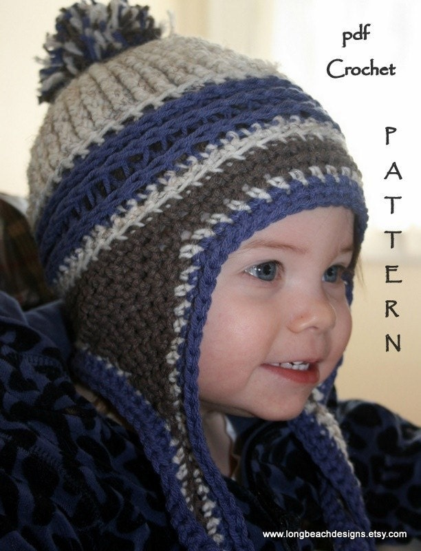 Free Crochet Pattern Toddler Hat Ear Flaps : CROCHET CHILDRENS PATTERNS ? Crochet For Beginners