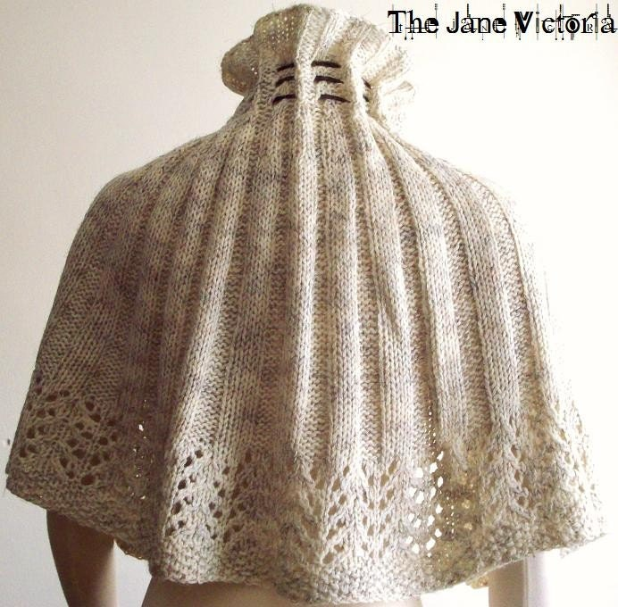 Free Knitted Capelet Patterns : CAPELET KNITTING PATTERNS   Free Patterns