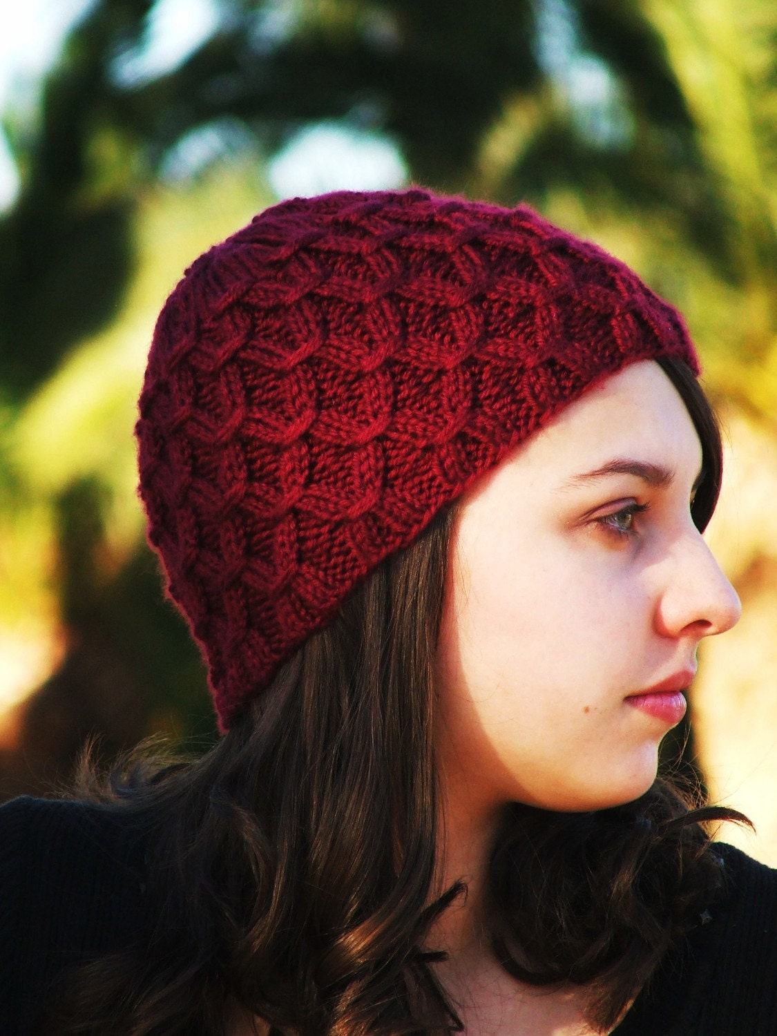 Head Huggers: Knit Pattern: Cold Weather Hat