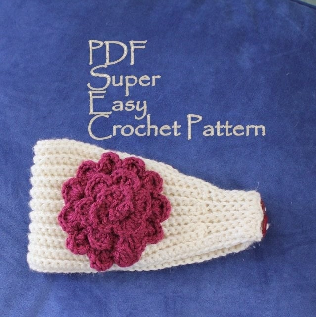 Knitting Pattern Central Headbands : EASY CROCHET HEADBAND PATTERN   Crochet Projects