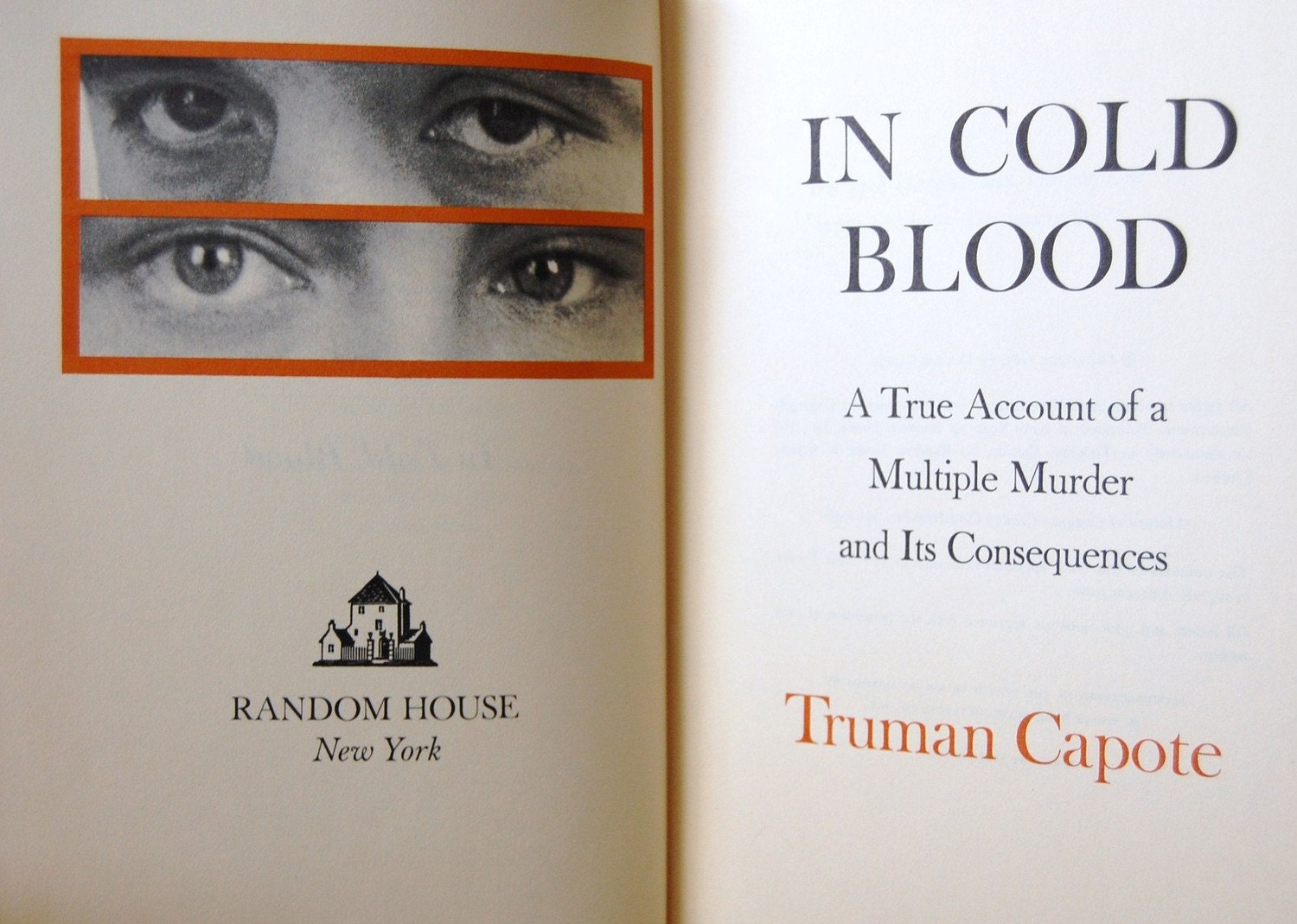 a multiple murder case in truman capotes cold blood In cold blood is a non-fiction novel by american author truman capote, first published in 1966 it details the 1959 murders of four members of the herbert clutter family in the small farming community of holcomb, kansas.