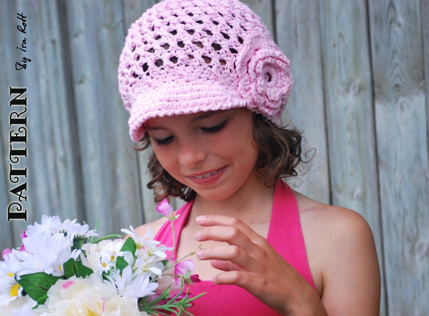 How to Crochet a Ballpark Newsboy Cap | eHow.com