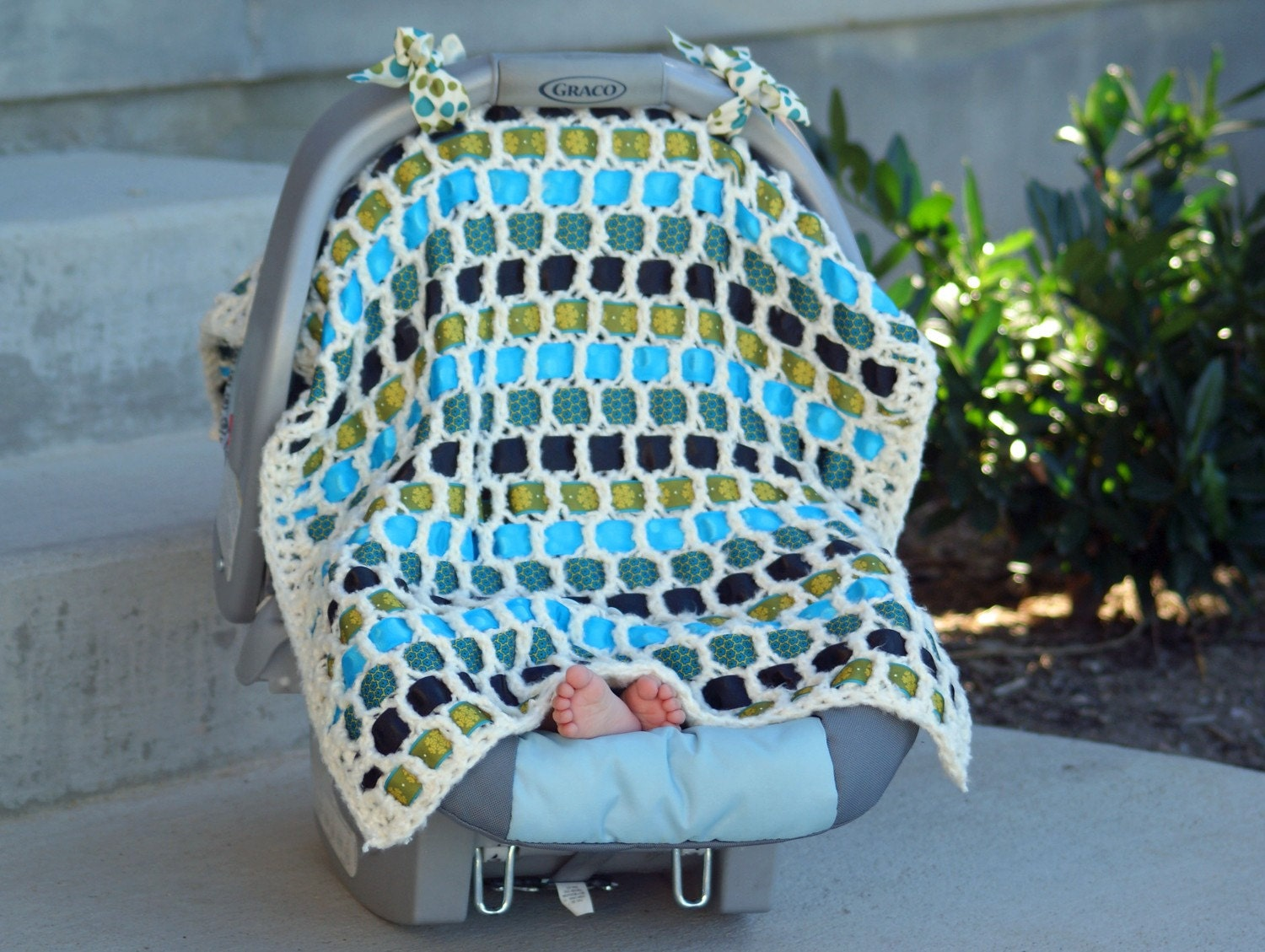 Unique Handmade Baby Car Seat Cover Blankets