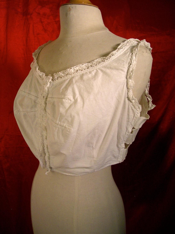 Vintage 1910 corsets phrase... super