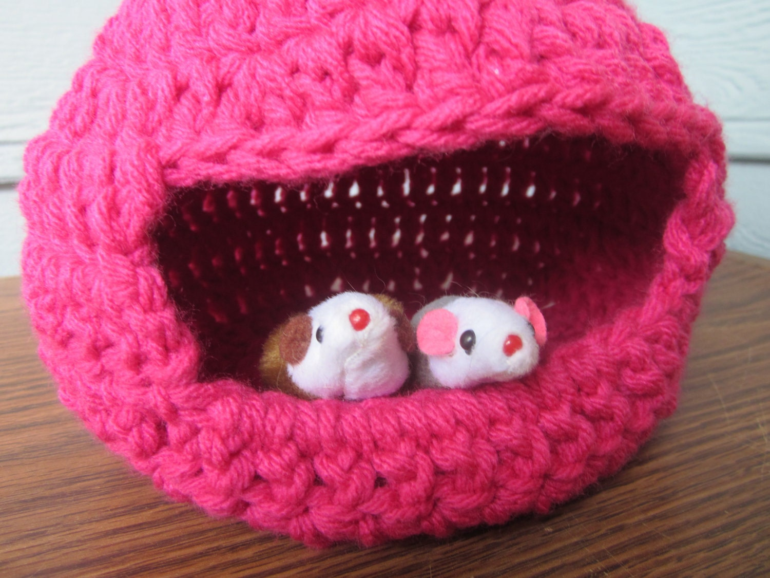 Crochet Patterns Pet Beds : CROCHET PET BED How To Crochet